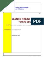 8_Elenco Prezzi Unitari - Opere Edili