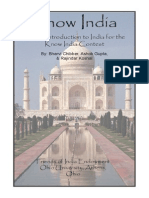 Know India Booklet