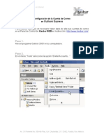 Config Mail Outlook 2003