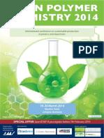 Green Polymer Chemistry 2014 Brochure