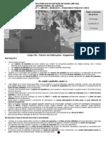 MP-GO tecnico Edificacoes 2013 - Banca IADES