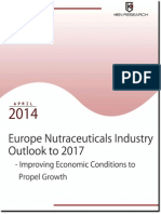 Europe Nutraceuticals Industry Outlook to 2017