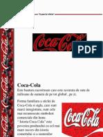 Coca Cola proiect