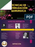 Tecnicas de Esterilizacion Quirurgica
