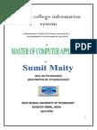 49048517 Online College Information System