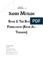 Sahih Muslim - Book 02 - The Book of Purification (Kitab Taharah