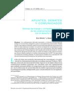 Normas del Trabajo y Complementariedad de los Ordenamientos Nacionales con el Derecho Internacional