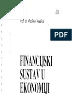 Financijski Sustav u Ekonomiji - Vladimir Veselica