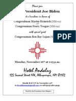 Official Bid en Event Invite