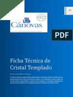 Cristal Templado Canovas - Ficha Tecnica