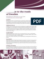 Roads of Sweden