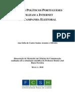 OLIVEIRA. Como Politicos Usam a Internet, 2010