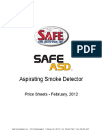 As SafeASD Pricesheet-2012