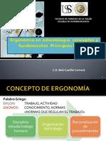 Ergonomía en Odontología, Concepto