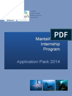 Internship Application Pack 2014