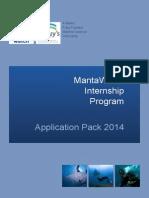 Internship Application Pack 2014