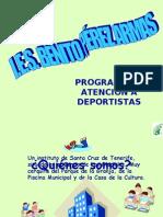 PROGRAMA DE ATENCIÓN A DEPORTISTAS