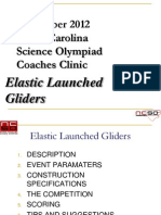 Elastic Launched Glider Institute 2012