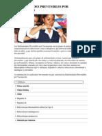 Enfermedades Prevenibles Por Vacunacion, Enfermedades de Transmison Sexual, Estimulacion Temprana