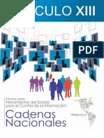 Informe Alianza Regional Cadenas Nacionales