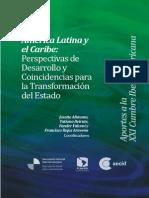 AL y El Caribe Perspectivas de Desarrollo y Coincidencias Para La Transformación Del Estado