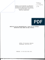 Análisis de Caracteristicas y Usos de Software Educativo en Edad Inicial