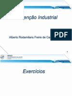 Aulas Manutenção Industrial 2014_1 - Exercícios