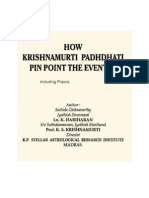 How K_p Pinpoint Events-prasna
