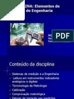 Slides Introdução a Metrologia UNIFACS