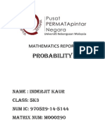Mathematics Report
