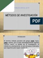 Diapositiva Tipos de Metodos Para La Clase