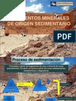 Yacimientos de Origen Sedimentario