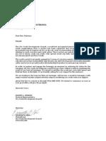 Letter to Indahag