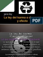 La Ley Del Karma Ppt Exp