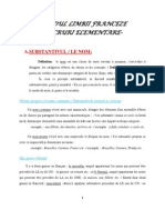 Curs Rapid de Initiere in limba franceza