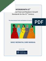 Draft Neonatal Manual