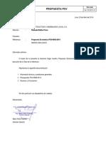 Propuesta PSV 0088 2014