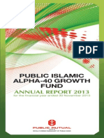 AlphaGrowth Annual Report 2013