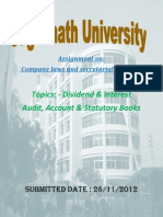 Assignment on Company Law & Secretary Pactices Group 7