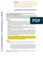 Allen 2009_effects of Alcohol on Performance on a Distraction Task During Simulated Driving