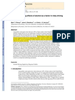 Fillmore, 2008_Acute Disinhibiting Effects of Alcohol as a Factor in Risky Driving