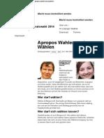 2014-05 Carl u Magdalene Jesche zur Stadtratswahl Leipzig