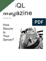 MySQL Magazine - Issue 1