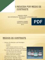 Nefropatia Inducida Por Medio de Contraste 2014