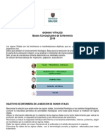 Documento Signos Vitales Bases Conceptuales 2014