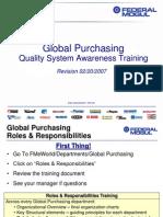 quality system awareness