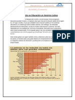 La Inversión en Educación en América Latina. Znayder