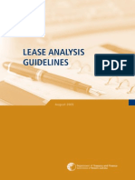 Lease Analysis