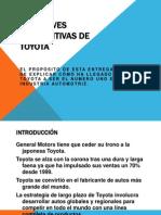 Las Claves Competitivas de Toyota