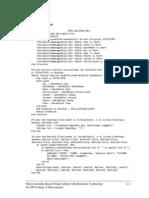 Appendix L Program Source Code